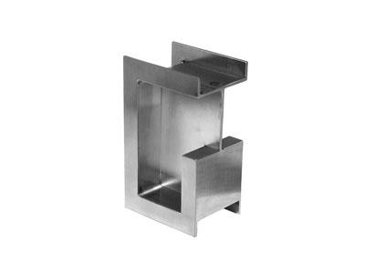 Pocket Door Edge Pull (stainless Steel)