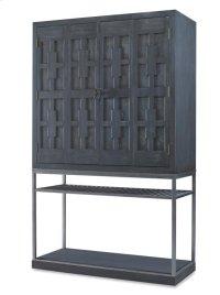 Casa Bella Burl Bar Cabinet Product Image