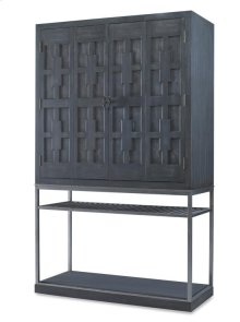 Casa Bella Burl Bar Cabinet