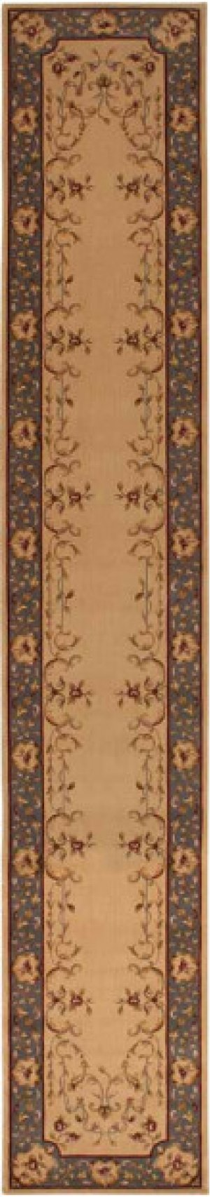 Hard To Find Sizes Ashton House As30 Bge Rectangle Rug 2'1'' X 13'1''