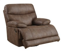Emerald Home Earl Swivel Glider Recliner Sanded Micro Brown U7128-04-15