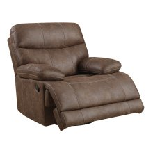 Emerald Home Earl Power Swivel Glider Recliner Sanded Micro Brown U7128-26-25