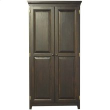 Solid Pine 2 Door Pantry Cabinet