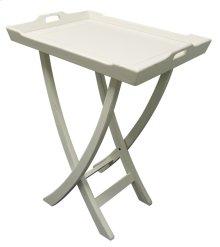 Chedi Tray Table - Wht