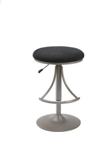 Venus Backless Barstool Black