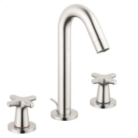 Brushed Nickel Logis Classic Widespread Faucet, 1.2 GPM