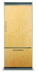 "36"" Custom Panel Bottom-Freezer Refrigerator, Right Hinge/Left Handle Product Image"