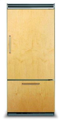 "36"" Custom Panel Bottom-Freezer Refrigerator, Right Hinge/Left Handle"