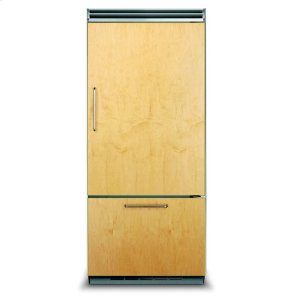 "Viking36"" Custom Panel Bottom-Freezer Refrigerator, Right Hinge/Left Handle"