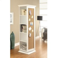 Casual White Accent Cabinet Product Image
