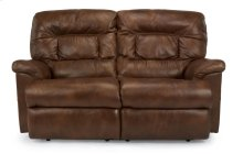Great Escape Leather or Fabric Power Reclining Loveseat