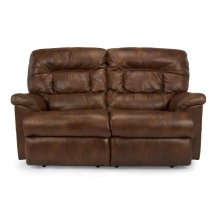 Great Escape Leather or Fabric Reclining Loveseat