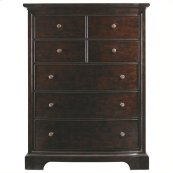 Transitional - Drawer Chest In Polished Sable