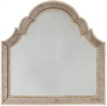 Sanctuary Shaped Landscape Mirror-Pearl Essence