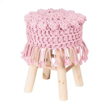 Hand Weave Cover Stool