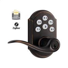 Kwikset SmartCode Lever with Zigbee Technology - Venetian Bronze