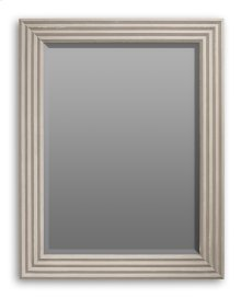 Luca Accordion Mirror, Stucco White