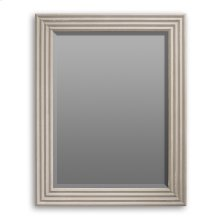 Luca Accordion Mirror, Stucco White
