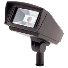 VLO 2700K 6x5 LED Flood Textured Architectural Bronze