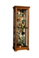 2-way Sliding Door Curio Golden Oak III Product Image