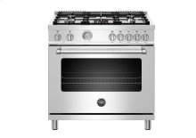 "36"" Master Series range - Electric oven - 5 aluminum burners"