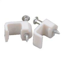 Speaker wire clips