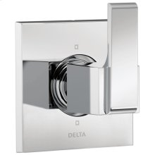 Chrome 6-Setting 3-Port Diverter Trim