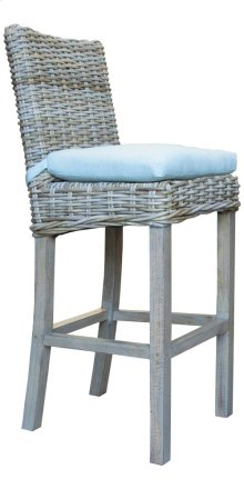 24'' Bar Stool, Available in Grey Wash or Royal Oak Finish.