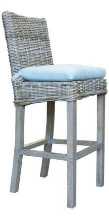 24'' Bar Stool, Available in Grey Wash or Royal Oak Finish.
