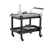 Rovira Bar Cart - Black Product Image
