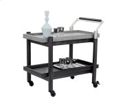 Rovira Bar Cart - Black Product Image