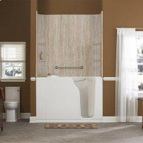 Gelcoat Premium Series 30x52-inch Walk-In Bathtub with Air Spa System  American Standard - White