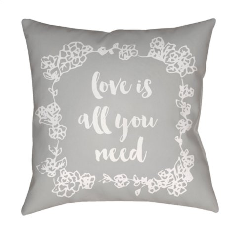 "Love All You Need QTE-044 20"" x 20"""