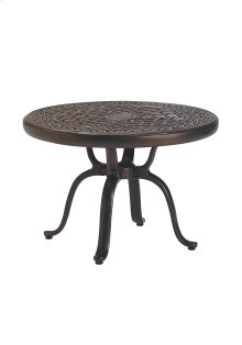 "Garden Terrace 25"" Round KD Tea Table"