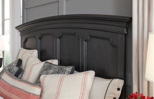 Townsend Arched Panel Bed, CA King 6/0