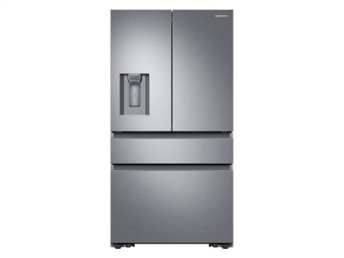 23 cu. ft. Capacity Counter Depth 4-Door French Door Refrigerator