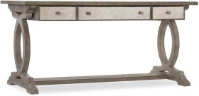 Rustic Glam Trestle Desk