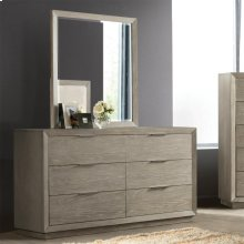 Zoey - Mirror - Urban Gray Finish