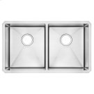 Pekoe 29x18 Double Bowl Kitchen Sink  American Standard - Stainless Steel Product Image