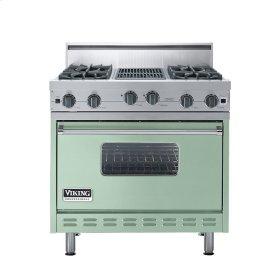 """Sage 36"""" Open Burner Range - VGIC (36"""" wide, four burners 12"""" wide char-grill)"""