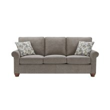 3 Cushion Sofa - Pewter Chenille Finish