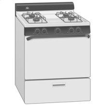"30"" Standard Clean Freestanding Gas Range"