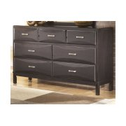 CLEARANCE ITEM--Dresser with Mirror Product Image