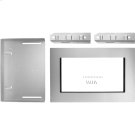 """27"""" Trim Kit for 1.5 cu. ft. Countertop Microwave Oven with Convection Cooking, Stainless Steel Product Image"""