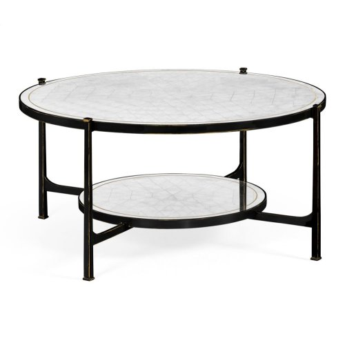 glomise Glass Bronze Coffee Table
