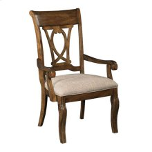 Portolone Harp Back Arm Chair