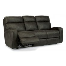 Tomkins Fabric Power Reclining with Power Headrests