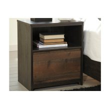 Windlore One Drawer Night Stand