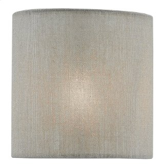 Dusk Cloud Linen Shade - 5 x 5 x 5