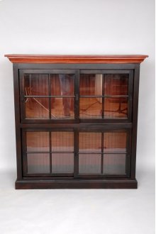 "#447 Medium Currahee Bookcase 54""wx18.5""dx54.5""h"